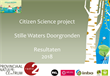 Stille waters doorgronden - Resultaten 2018